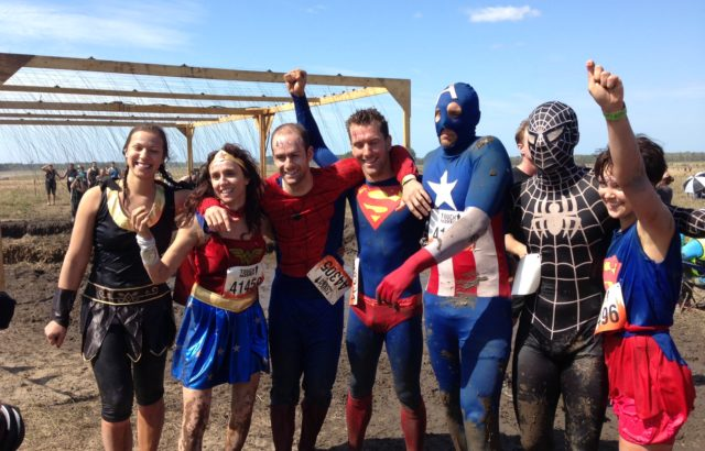"The MOVE team Osteos doing ""Tough Mudder"""