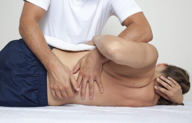 Seeing an Osteopath & Spinal Manipulation.