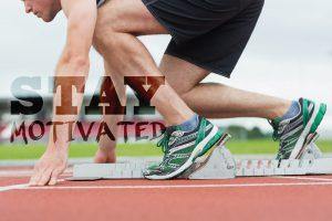 stay motivated start race