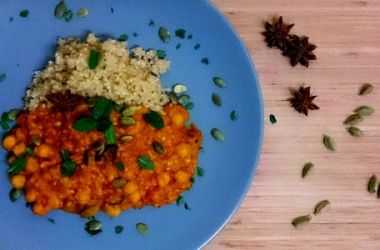 July Recipe – Chickpea Dahl