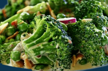 Broccoli Salad with Curry Dressing Recipe